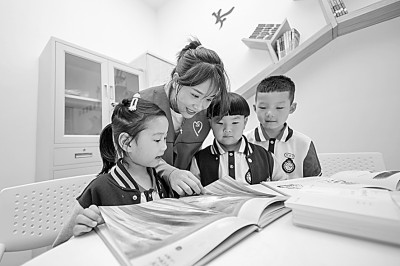 合力托举让乡村儿童享受阅读之美