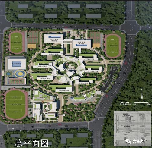 金牌教育园明年9月建成投入使用